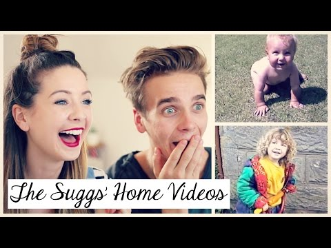 Thumbnail: The Suggs' Home Videos | Zoella
