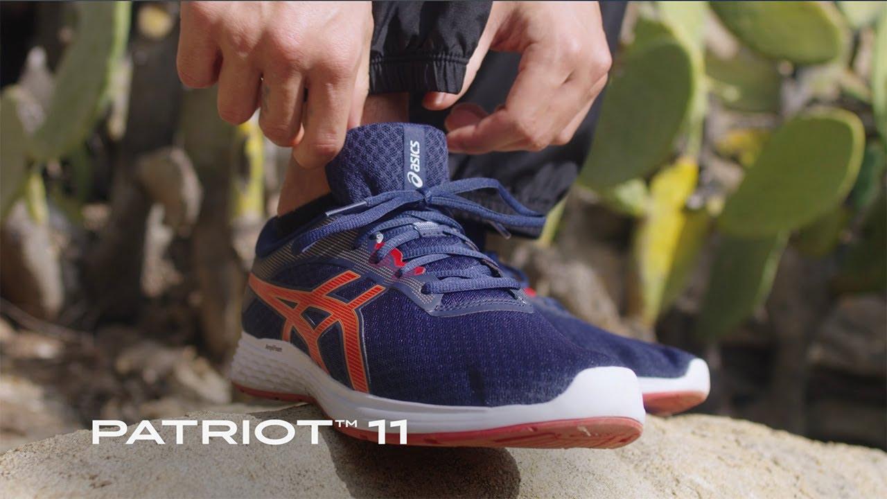 Factor malo marrón Dibujar  ASICS | PATRIOT™ 11 Product Video - YouTube