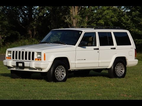 1999 Jeep Cherokee Limited 4x4 4.0L White