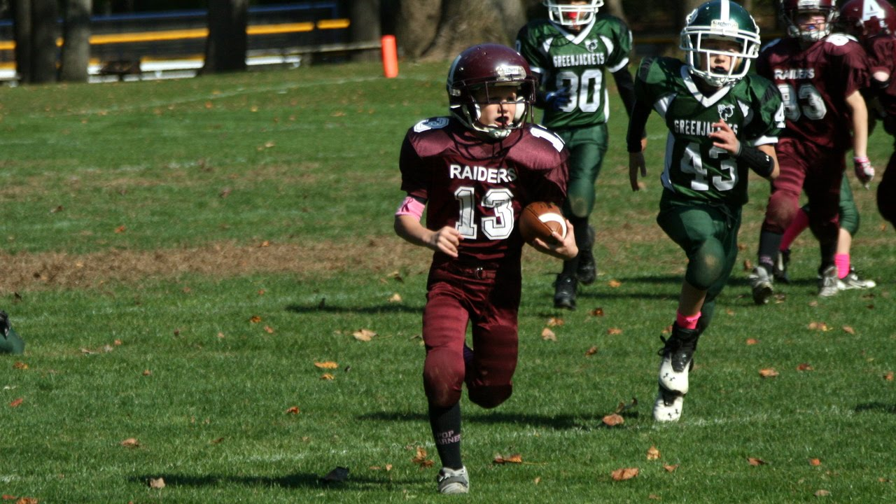 2014 Abington Raiders 90lbs v. Pennridge Greenjackets, October 25 ...