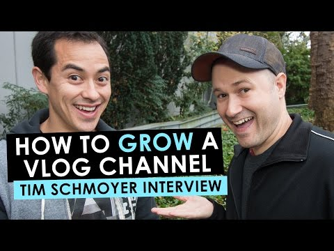 How to Grow Your Vlog Channel and Make Money Vlogging — Tim Schmoyer Interview