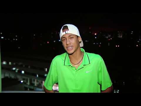 Интервью 17-летнего НЕЙМАРА на русском