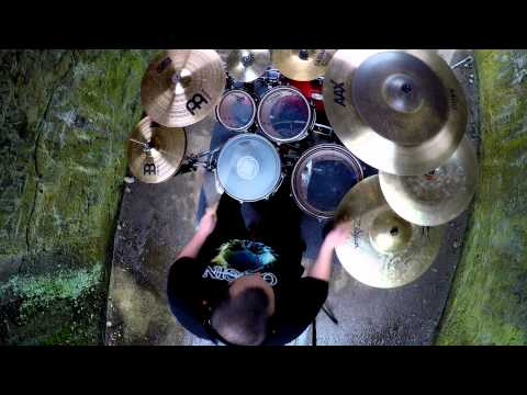 """Reborn Divided """"Where the Ocean meets the sky"""" Drum Playthrough"""