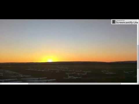 ''TWO SUNRISES'' Perth Webcam August 21-25, 2016