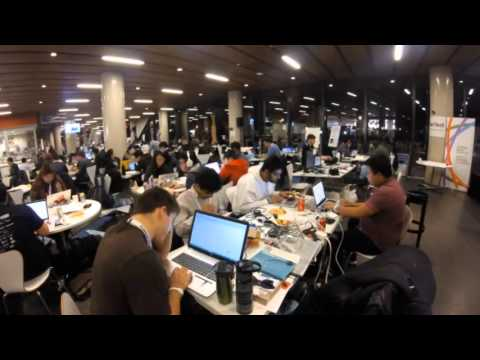 Dementia Hack 2015 - Team New Found Coders Time Lapse