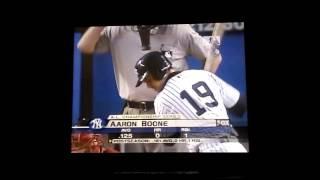 Aaron Boone Walk Off Homerun 2003 ALCS Game 7 Radio Version