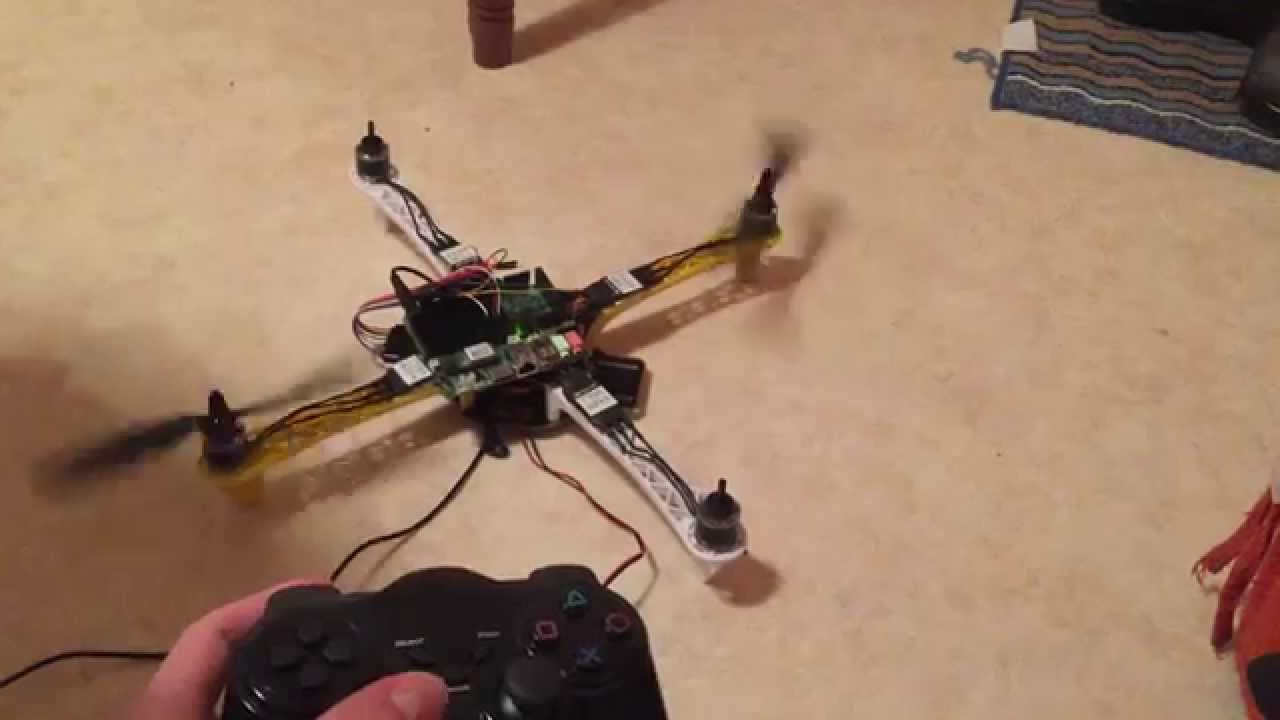Remote ps drone on arduino udoo youtube
