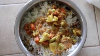 Овощной Рис, Бирьяни, Вегетарианская, Ведическая Кухня