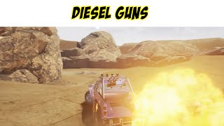 Diesel guns demo -  Old school multiplayer car shooter -  Diesel guns first impression