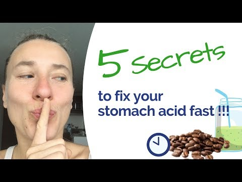 Low Stomach Acid 5 Secrets to Fix it Fast (no supplements, ACV or drugs)