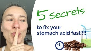 Low Stomach Acid - 5 Simple Habits to Fix it (no supplements, ACV or meds)