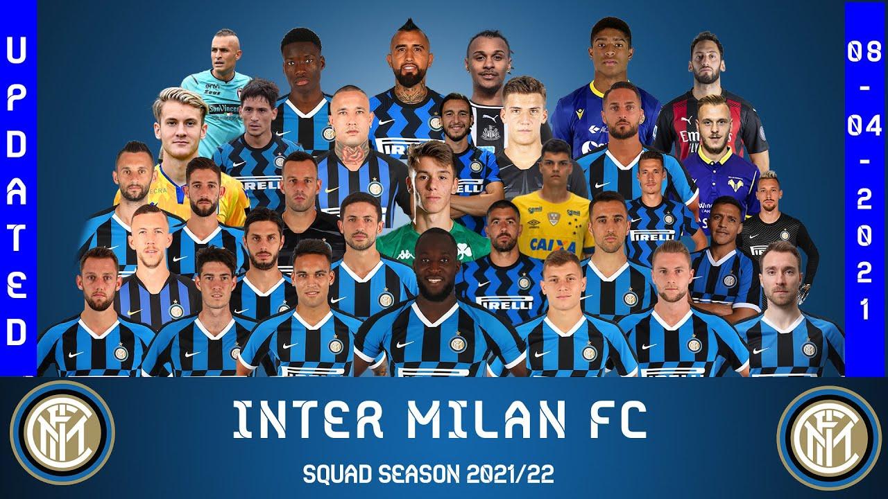 Download INTER MILAN FC SQUAD 2021/22 - UPDATED    Serie A    Confirmed, NEXT SEASON'S SQUAD, Romelu Lukaku