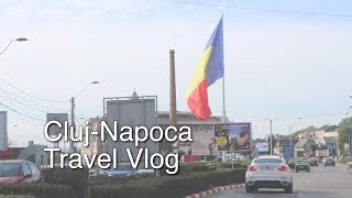 Did you see the size of that flag? - Cluj Napoca Travel Vlog