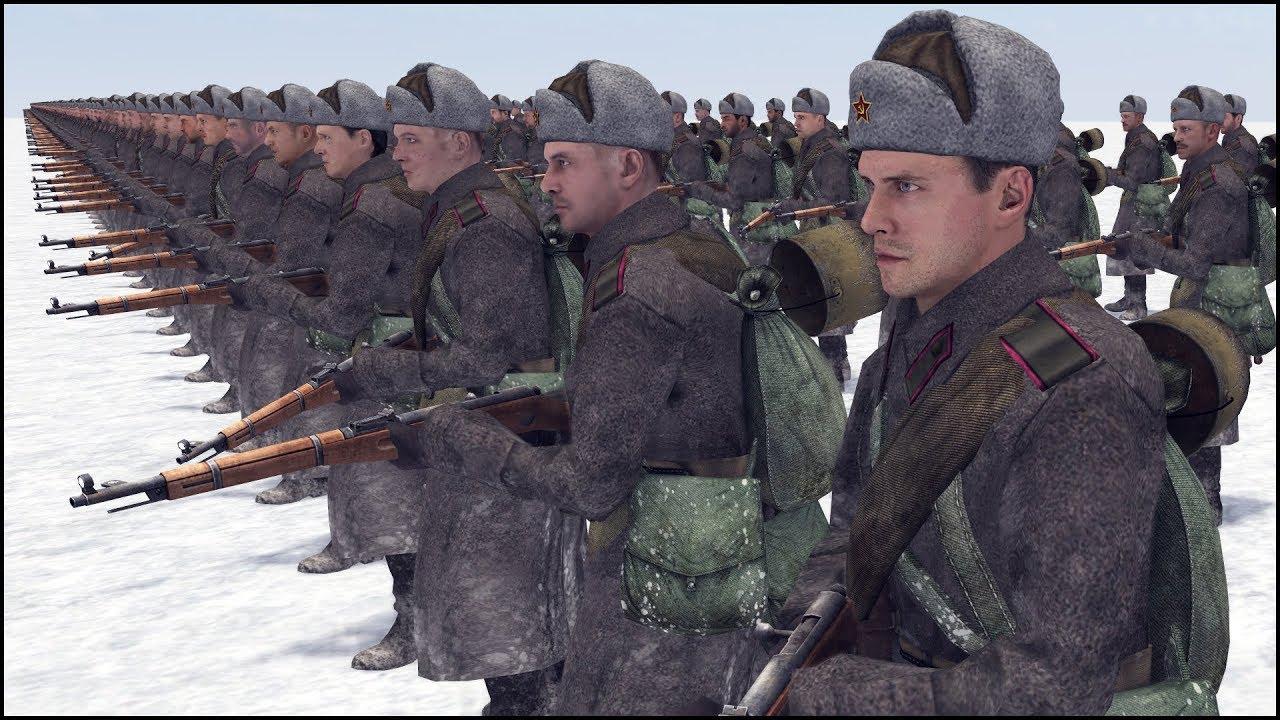 1 FINNISH SNIPER vs 500 SOVIETS - MISSION IMPOSSIBLE