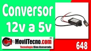 Convertir 12 voltios a 5 voltios en MovilTecno.com