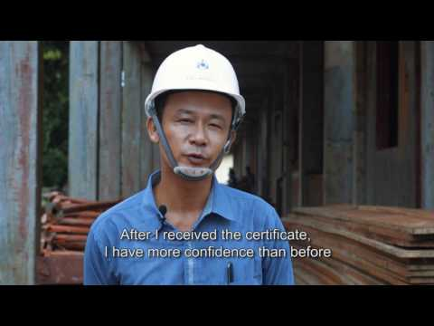 ACTED Myanmar Schneider Electric TVET 2016 video