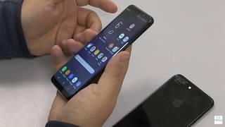 Сравнение Apple iPhone 7 Plus и Samsung Galaxy S8 Plus