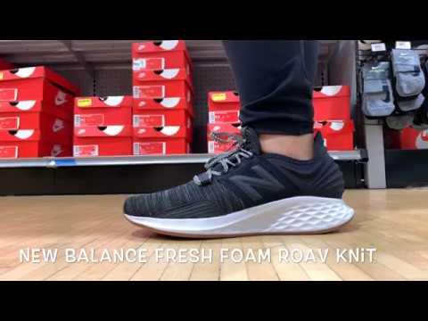 The New Balance Fresh Foam Roav Knit in