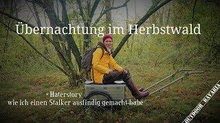 Übernachtung im Herbstwald - Realtalk  Haterstory - Vanessa Blank - 4K