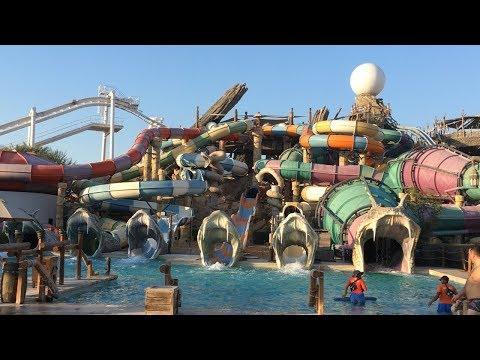 Yas Waterworld Abu Dhabi Vlog January 2018