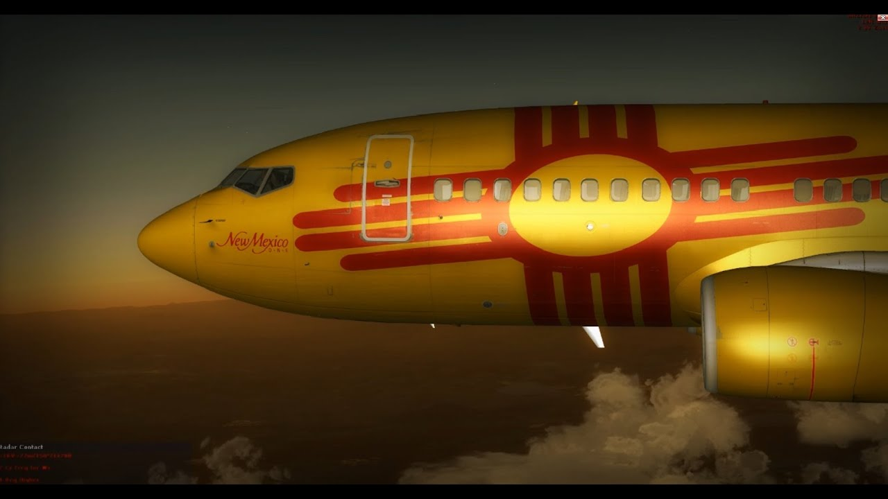 [FSX] 737-700 NGX Southwest New Mexico One + FS2Crew + GSX by Cristiano  Mueller