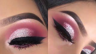 Velvet Pink Eye Makeup Tutorial | Jocy Reyes