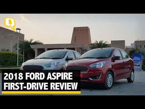 2018 Ford Aspire First-Drive Review | The Quint