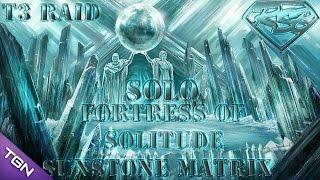 DCUO: FOS3 - Solo |Speed Feat| T3 Raid |Fortress Of Solitude Sunstone Matrix|