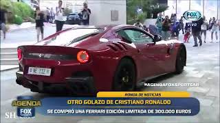 Cristiano Ronaldo se compró una Ferrari edición limitada de 300.000 euros