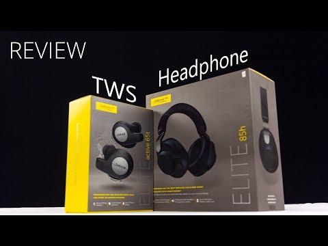 Review True Wireless Stereo (TWS) Jabra Elite Active 65t dan Wireless Headphone Jabra Elite 85h