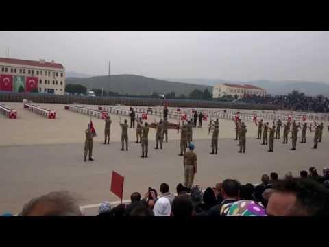 94/1 İzmir / Yeni Foça Yemin Töreni - Komando Gösterisi