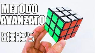 COME RISOLVERE IL CUBO DI RUBIK IN POCO TEMPO / 25 SECONDI / Metodo Fridrich / Semplificato