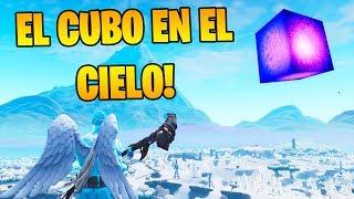 APARECE el CUBO KEVIN en el CIELO!! FORTNITE 😱🔥