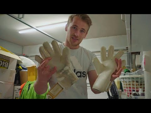 How To Clean Your Goalkeeper Gloves | Keeping Goals - S2Ep41