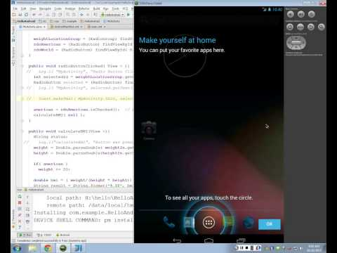 Android Mobile Development - Lecture 9 - Radio Buttons