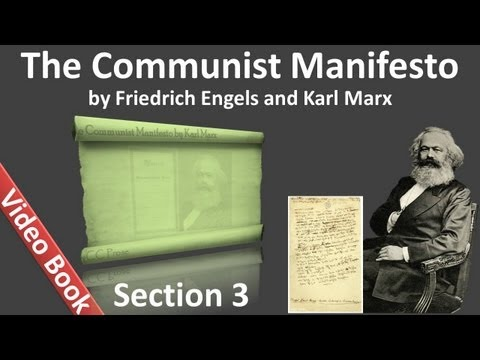 Section 3 - The Communist Manifesto by Friedrich Engels and Karl Marx - Socialist and Communist Lit