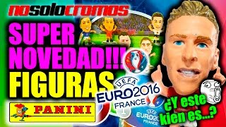 SUPER NOVEDAD !!! Sobres Sorpresa FIGURAS Panini Superstars Euro2016 - Unboxing