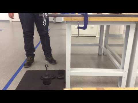 Mechanical Testing Video Tensile Test On Fishing Line 720p