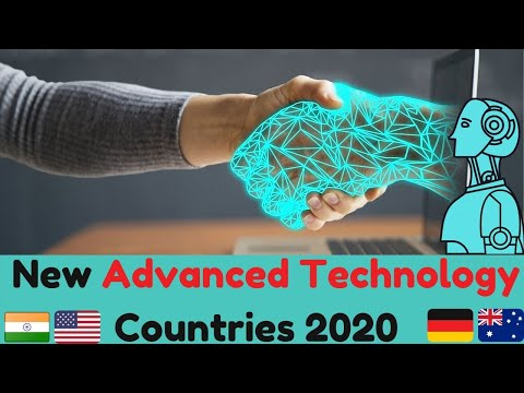 Top 10 Most Technology Countries in The World 2020 New Advanced Technology