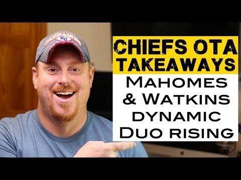 Mahomes & Watkins, Ragland on the rise - OTA takeaways Kansas City Chiefs 2018