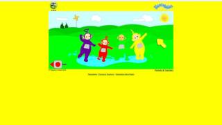 PBS Kids Teletubbies 2004 Puddle Game