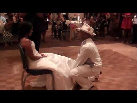 "THE GREATEST WEDDING CEREMONY/RECEPTION DANCE "" YEEK "" , GARTER & MOST ENTERTAINING EVER(ATLANTA)!!"
