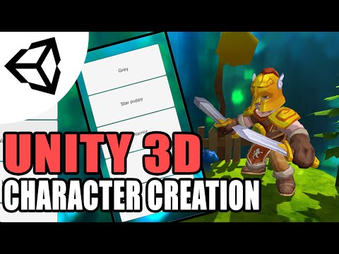 Character Selection [Tutorial][C#] - Unity 3d