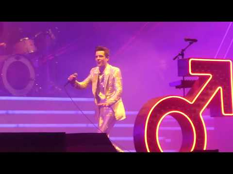 """Mr Brightside"" The Killers@Wells Fargo Center Philadelphia 1/13/18"