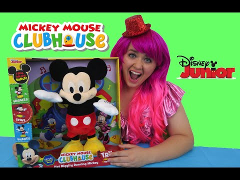 Mickey Mouse Clubhouse Hot Diggity Dancing Mickey | TOY REVIEW | KiMMi THE CLOWN!