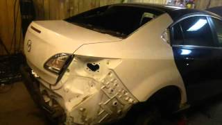 видео Mazda 6 [GH]: Бампер задний