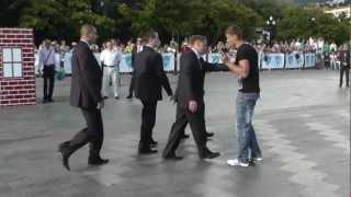 Третий чемпионат мира телохранителей в Ялте 2012 года.