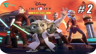 Disney Infinity 3.0 - Star Wars Twilight Of The Republic - Capitulo 2 - 1080pHD