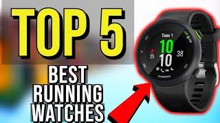 ✅ TOP 5: Best Running Watches 2019