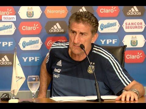 """Bauza dijo que """"es fundamental ganarle a Chile"""" y que confía """"a muerte en el equipo"""""""